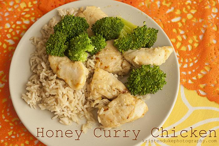 honey-curry-chicken