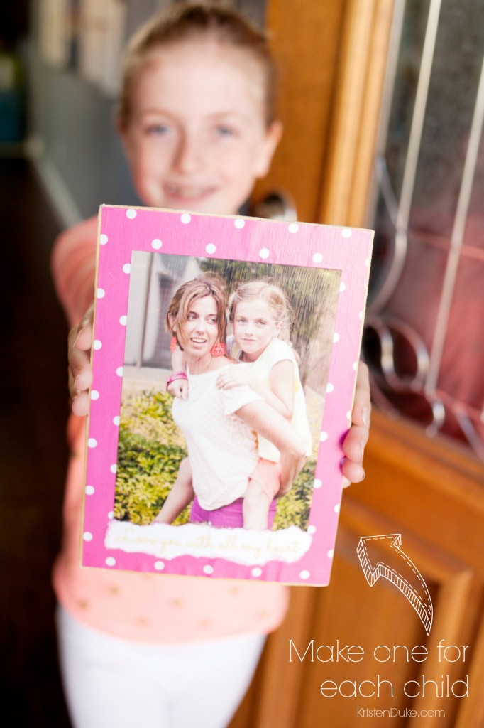 parent and child picture frame