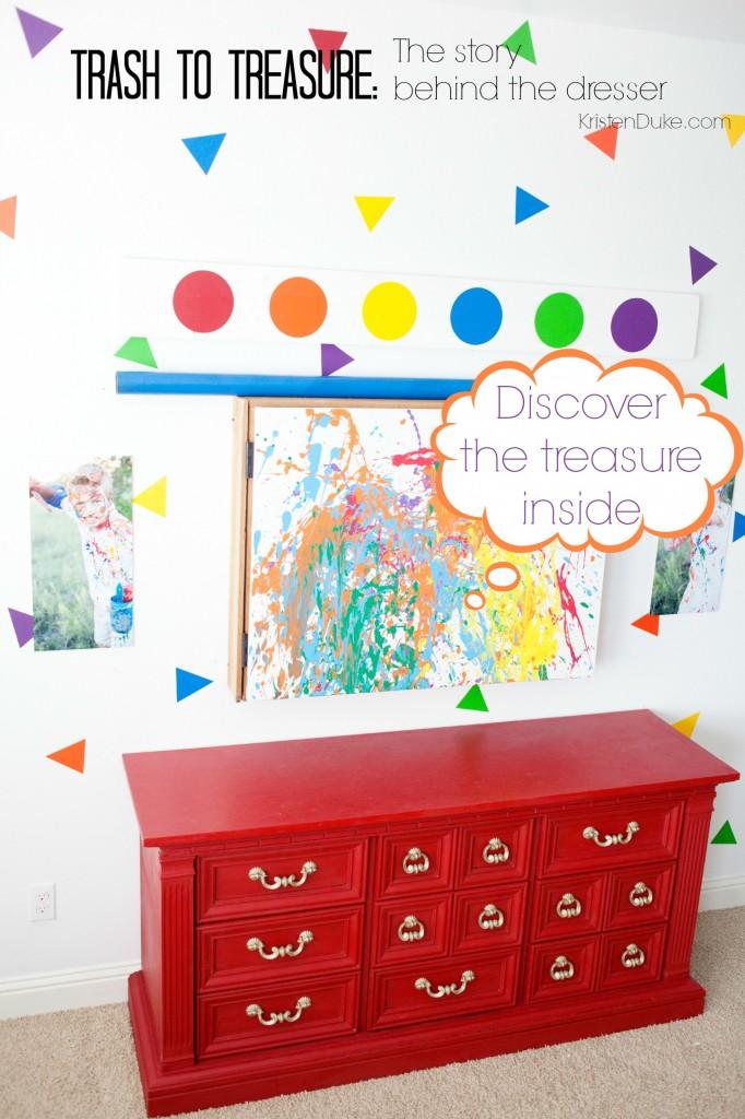trash to treasure dresser