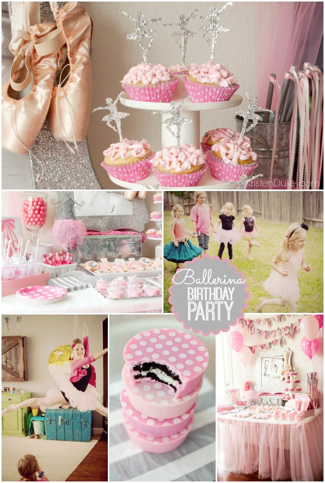 Ballerina Dance Birthday Party