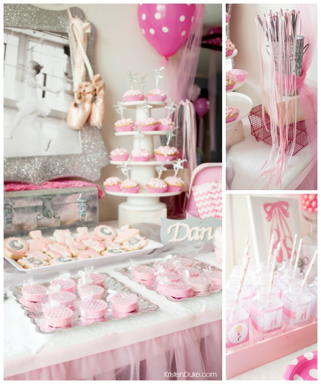 Ballerina birthday party for Ballerina party decoration