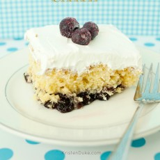 Easy dessert, similar to a dump cake