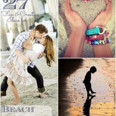Fun ideas for beach photography