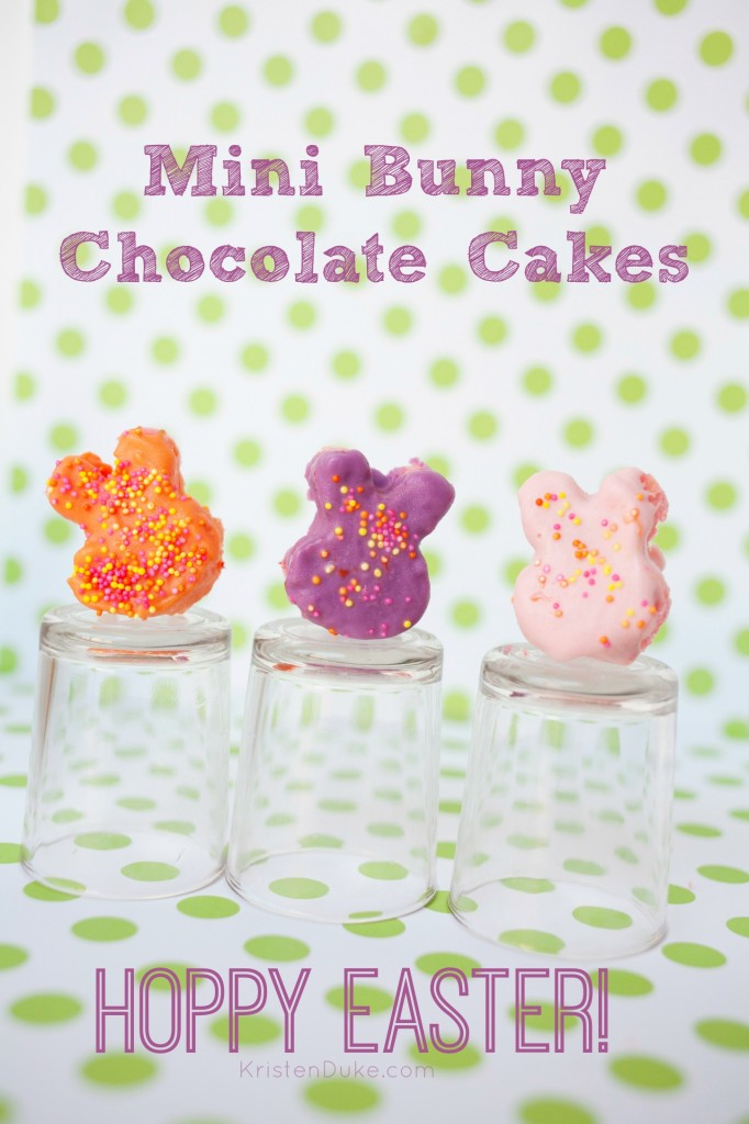 Mini Bunny Chocolate Cakes