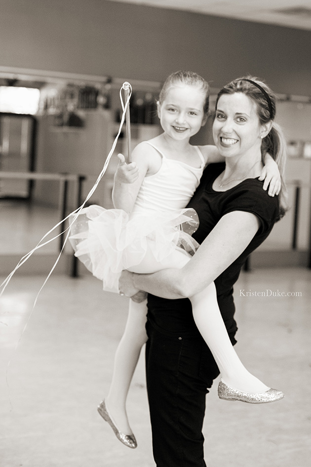 Mom and Ballerina
