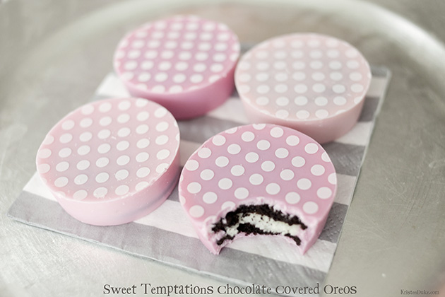 Sweet Temptations Chocolate covered Oreos