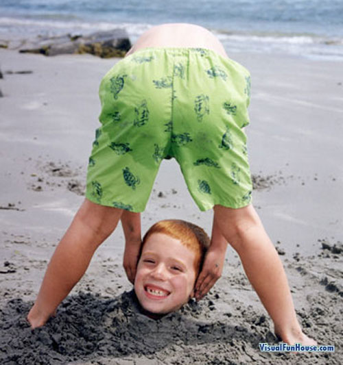 Funny headless pictures