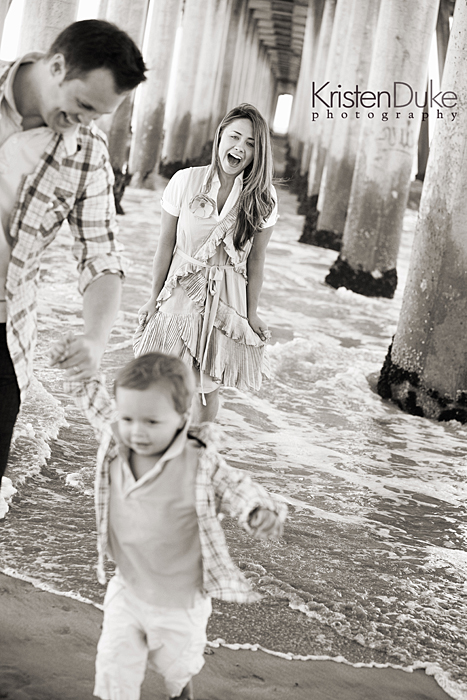 Family under the pier pictures