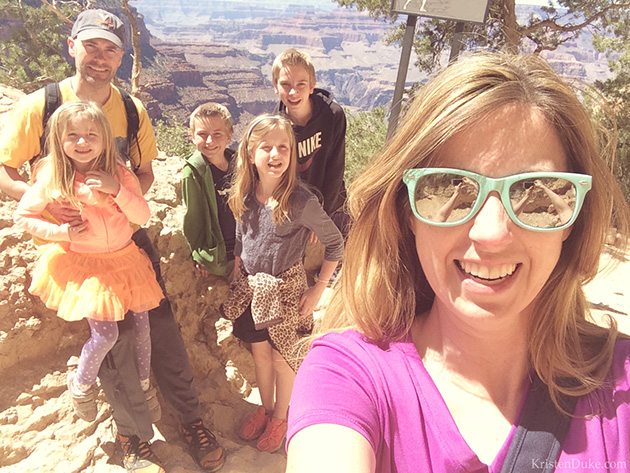 Grand Canyon Selfie
