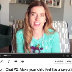 How to make your Child feel like a Celebrity