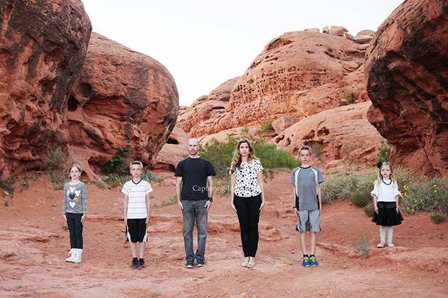 St George Utah Family Pictures