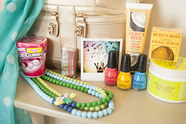 pampering purse