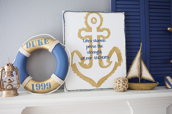Nautical home decor inspiration