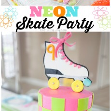 Neon Skate Party by Capturing-Joy.com