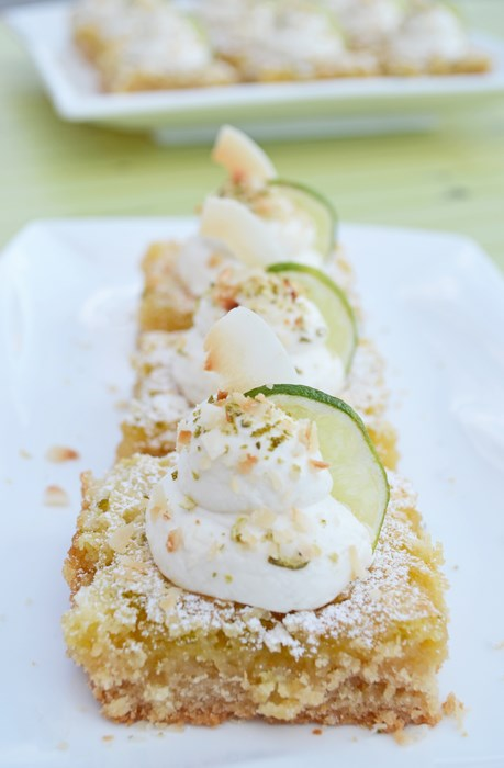 key lime summer dessert