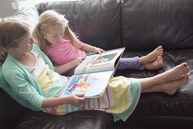 teaching service to kids