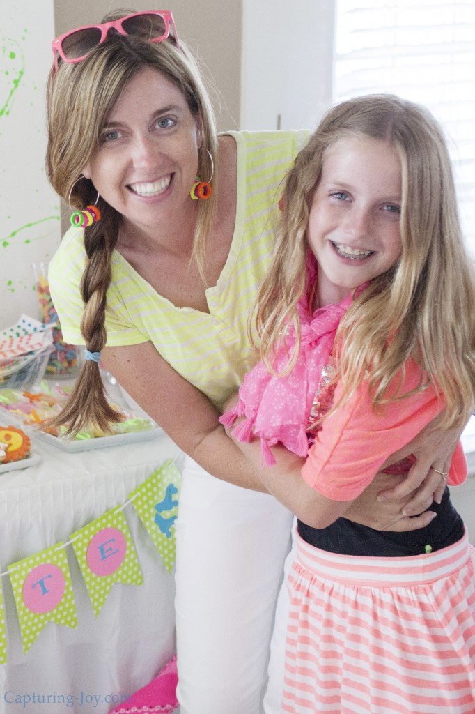 mother daughter party fun