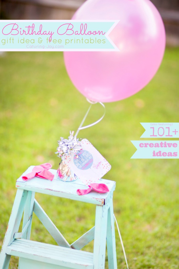 Free Printable Blog Hop Im Excited To Share 101 Birthday Gift Ideas For Your Friends