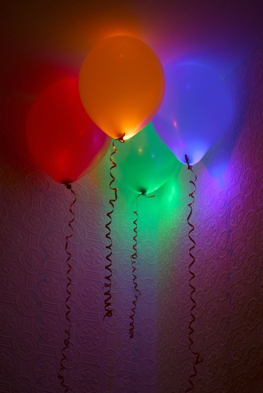 Cool Glow Stick balloons!