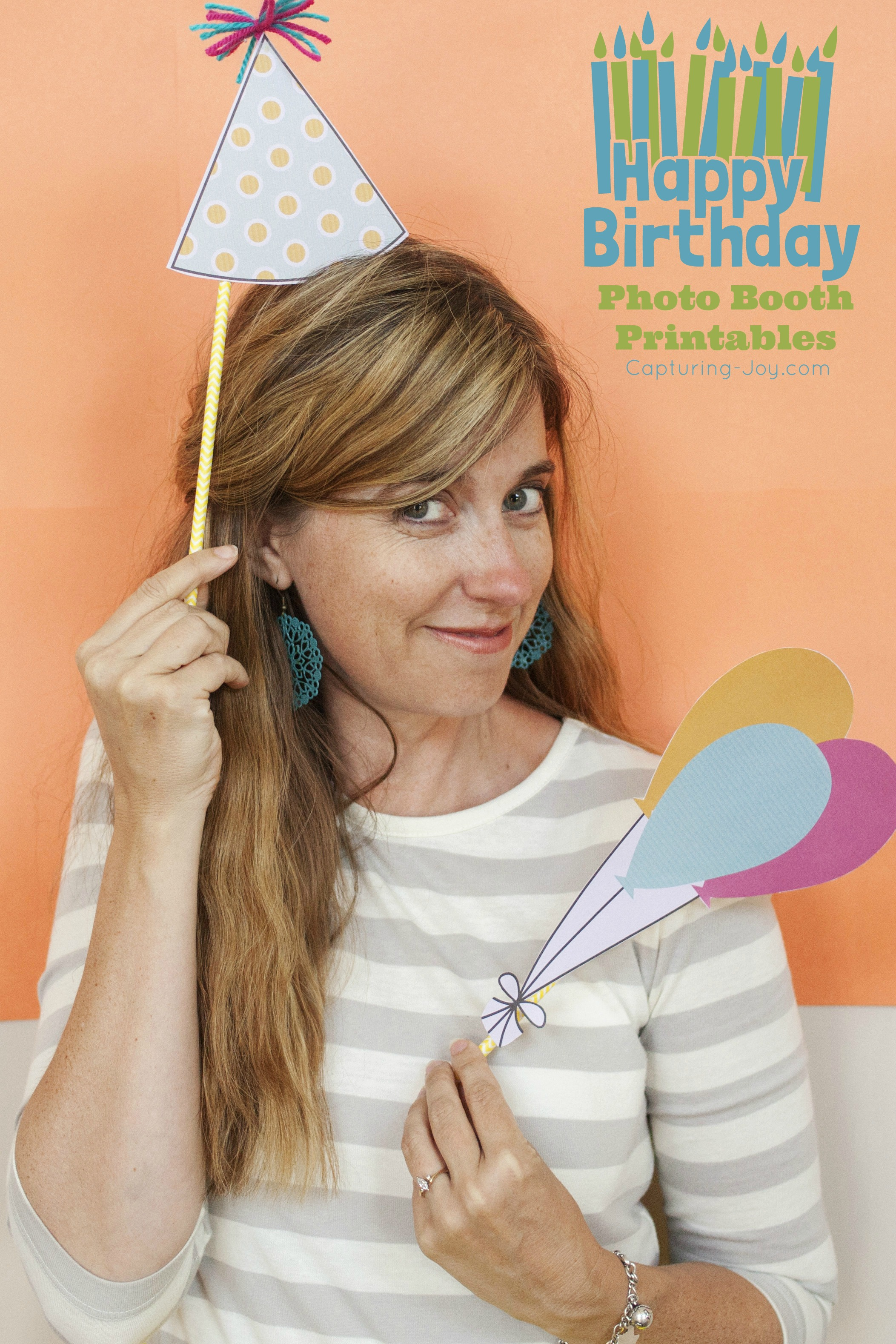 Birthday Photo Booth Props And Free Printables