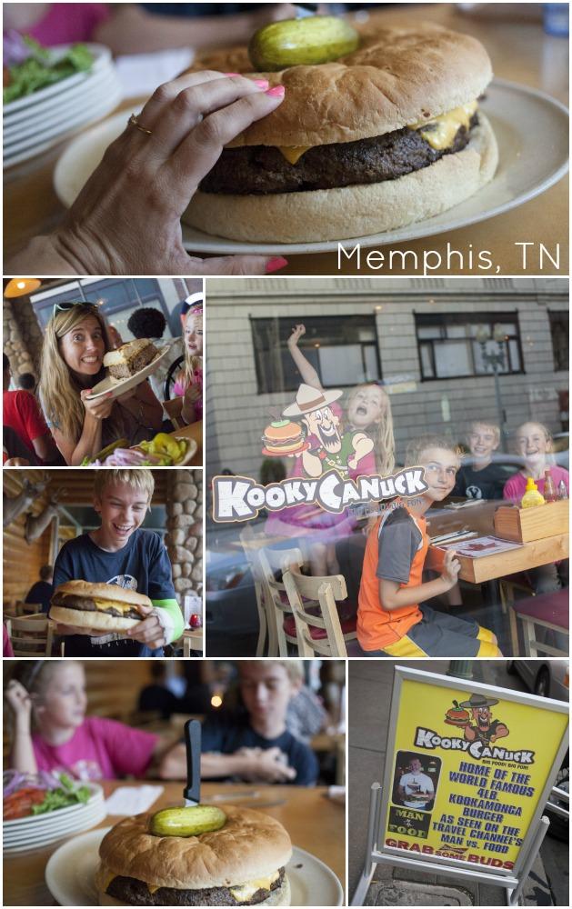 Kooky Canuck Memphis hamburgers