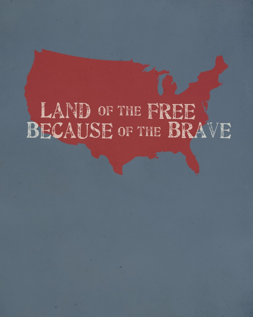 "a critique of the idea that america is the land of the free and the home of the brave Francis scott key spoke of africans in america as a famous words ""the land of the free and the home of the brave the globalist's latest."