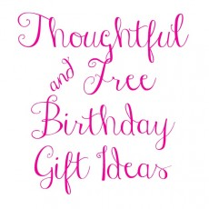free printable birthday gift