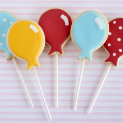 balloon sugar cookes