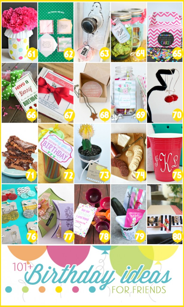 101 creative gift ideas + free printables