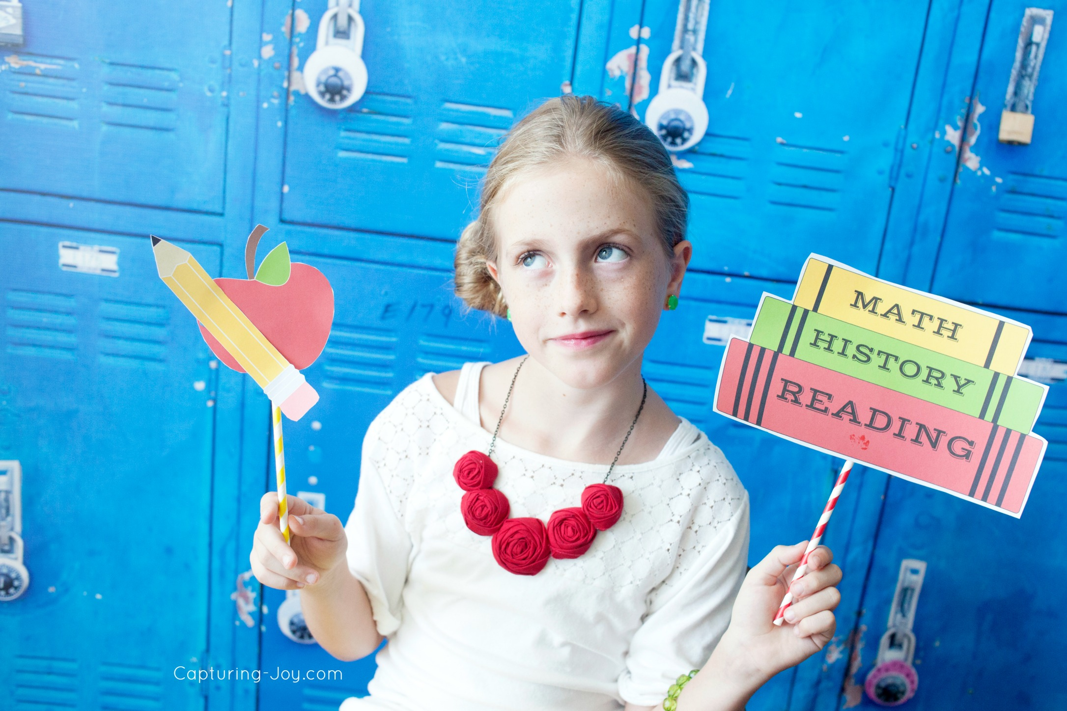 Back To School Photo Booth Printables