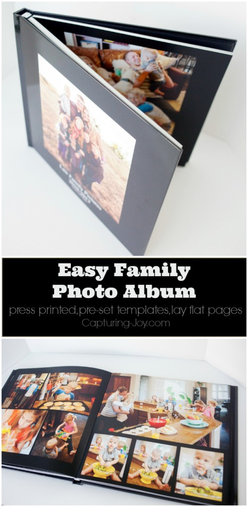 how to make a photo album for family