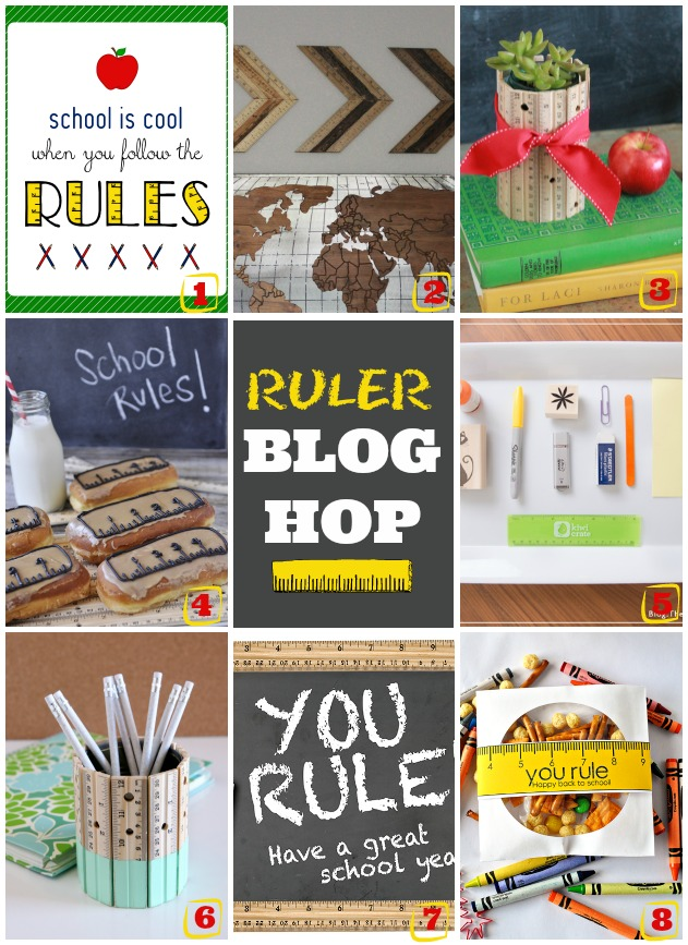 Lots of RULER ideas, perfect for back to school! Great teacher gift ideas!