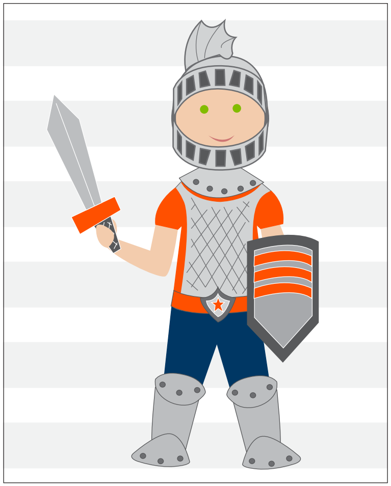 Put on the Armor of God Printable
