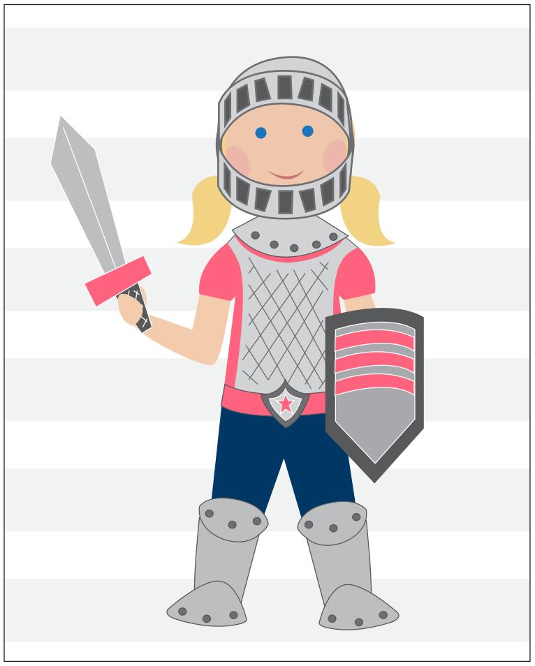Girl Armor of God