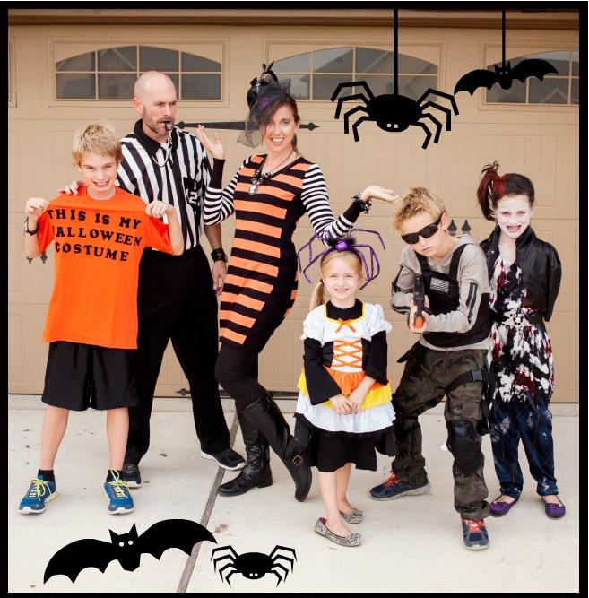 Happy Halloween Family Picture