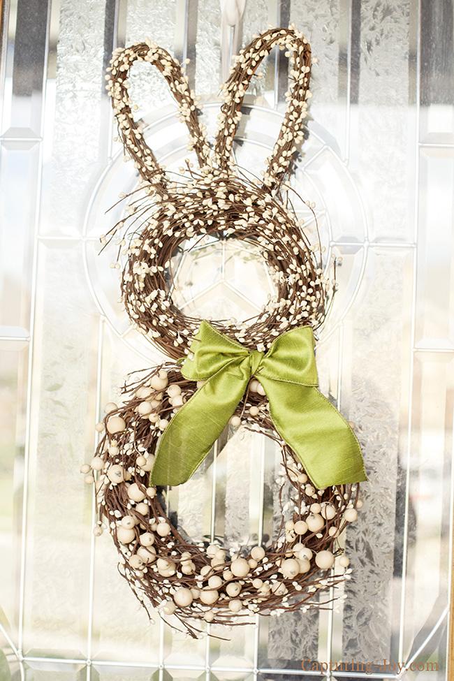 Spring Bunny Outdoor wreath