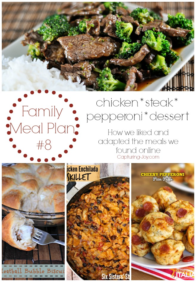 Family Meal Plan #8