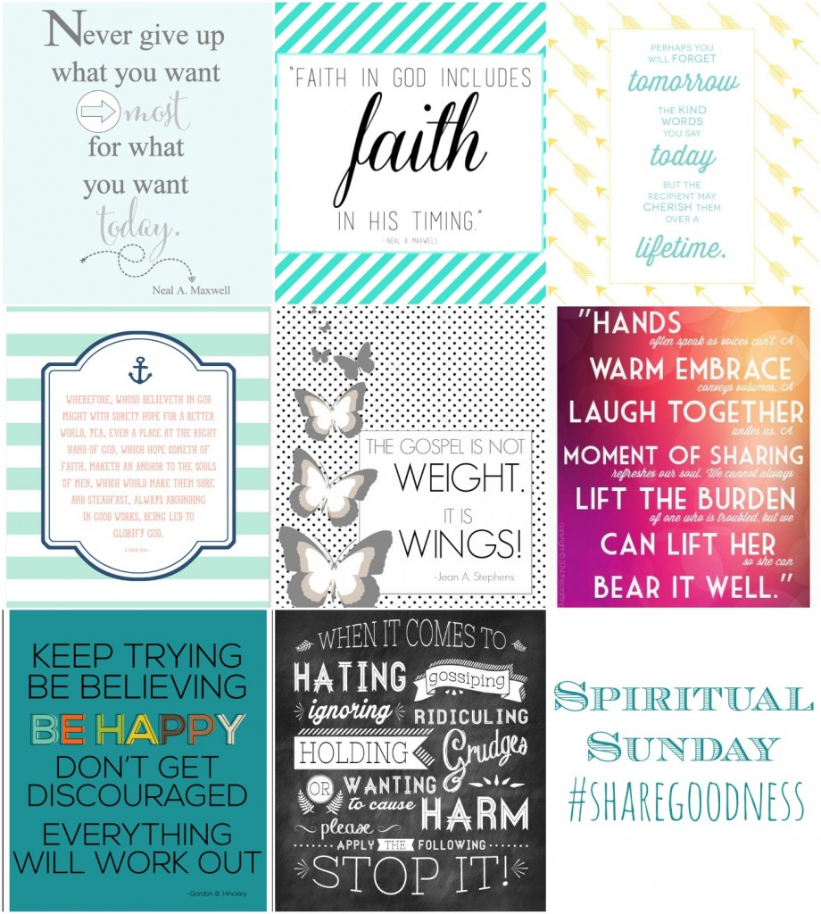 Free Printable quotes to #sharegoodness