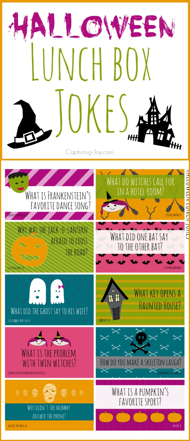 Do It Yourself Home Design: Halloween Lunch Box Jokes