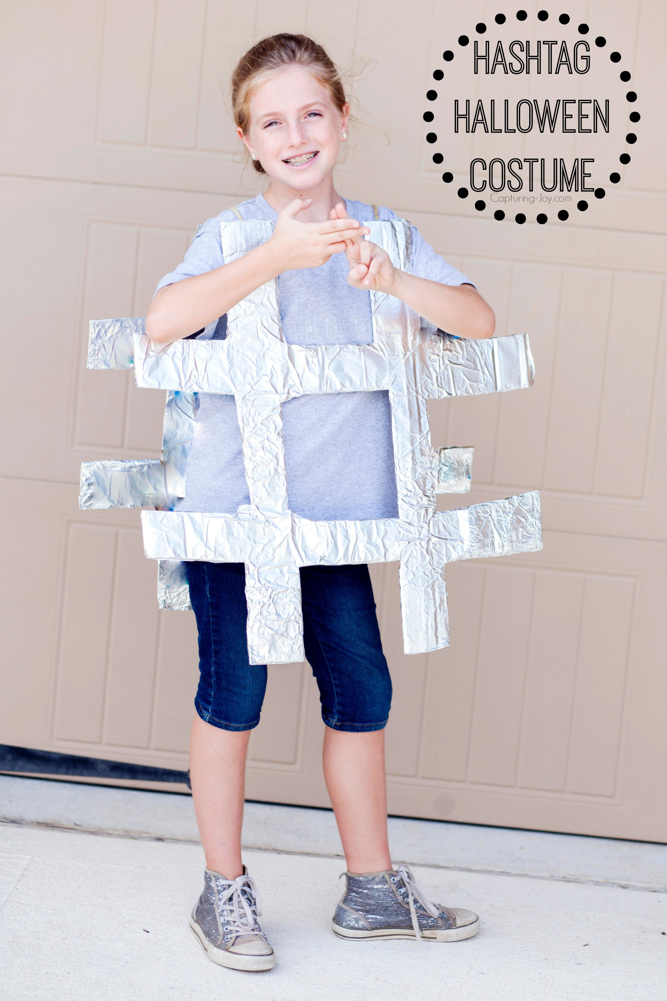 Diy hashtag halloween costume solutioingenieria Choice Image