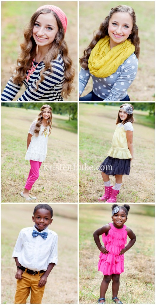 Brooklyn and Bailey Family Pictures
