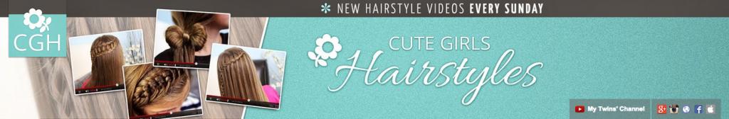 Cute Girls Hairstyles Header
