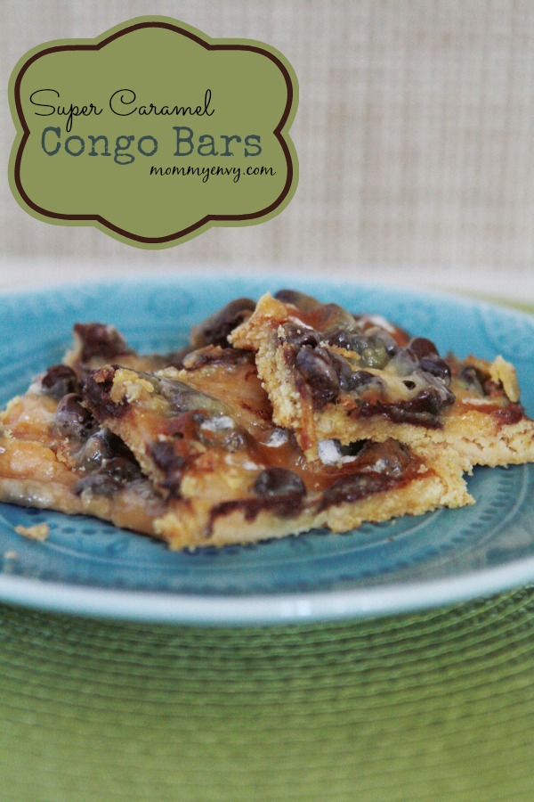 Super Caramel Congo Bars