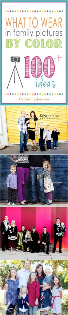 Taking family pictures