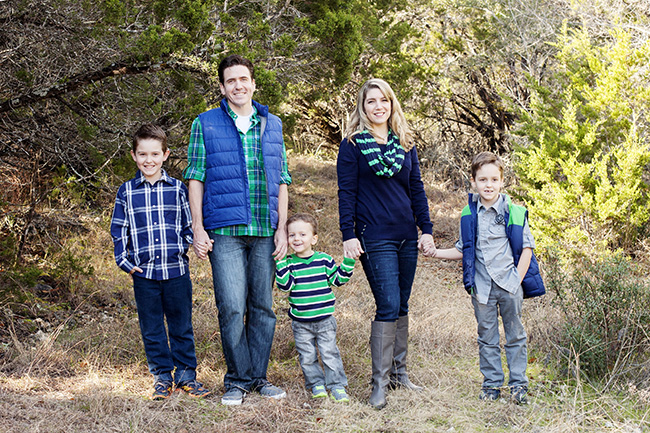 This is my brother and his family i havent blogged it so no links lot of blue navy in this but i love the pops of green and gray and love the plaid