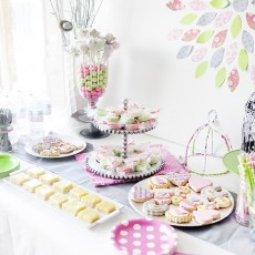 Bird and branch baby shower