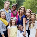 Cute Girls Hairstyles Family with Silly Faces by Kristen Duke