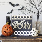 "Super easy tutorial to make this ""Spooky Mirror""! #halloween #diy"