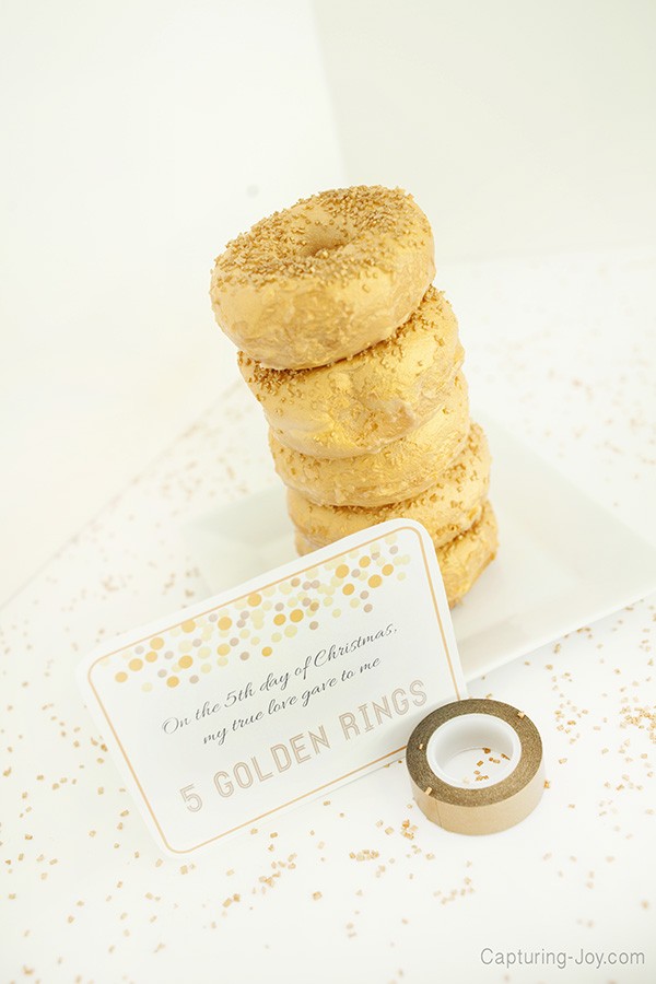 5 golden rings