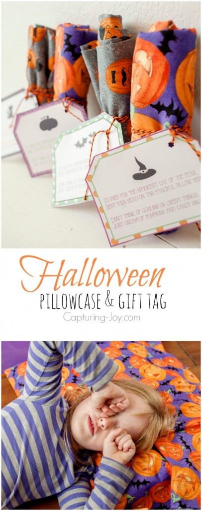 Free printable halloween gift tag